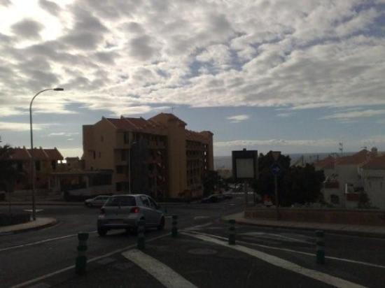 Playa de Fañabé, Spagna: Hotellet vårt: Playa Olid