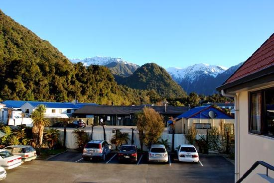 Bella Vista Motel Franz Josef Glacier: can't complain about the view...