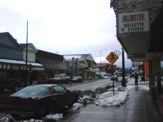 อาร์ลิงตัน, วอชิงตัน: Arlington - Olympic Ave - 2009