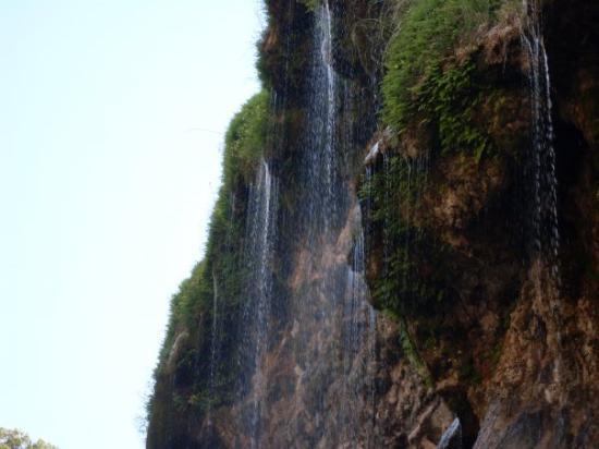 Sitting Bull Falls: Sitting Bull Falls. New Mexico