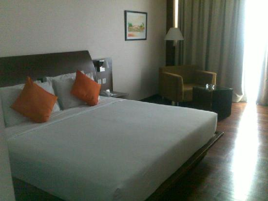 The Luxton Bandung: our king size bed