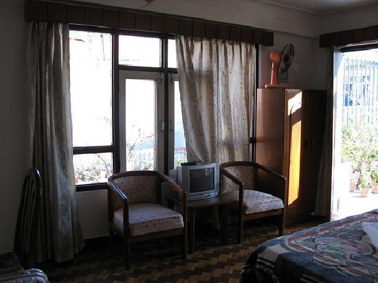 Hotel Karma: roomy double room
