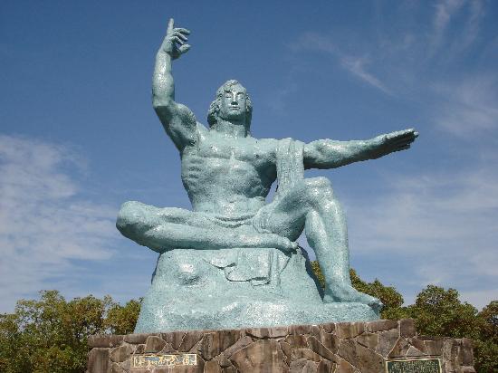 Nagasaki Peace Park: 平和祈念像