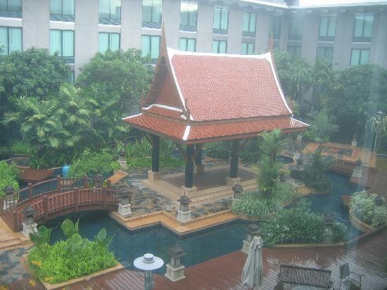 โนโวเทล แบงคอค สุวรรณภูมิ แอร์พอร์ท: Thai garden
