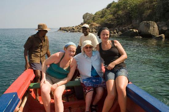 Trinco Blu by Cinnamon: Our group on  a trip to Swami Rock with Wanum