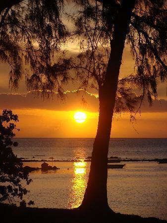 Tarisa Resort & Spa: Coucher de soleil