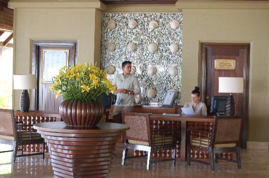 Taj Exotica Resort & Spa: Reception