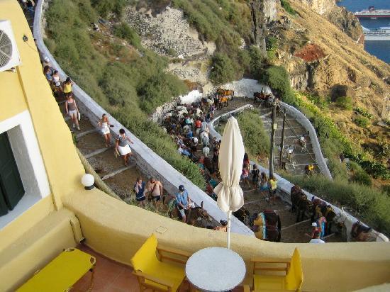 Porto Carra Hotel : a côté des remontée des anes....