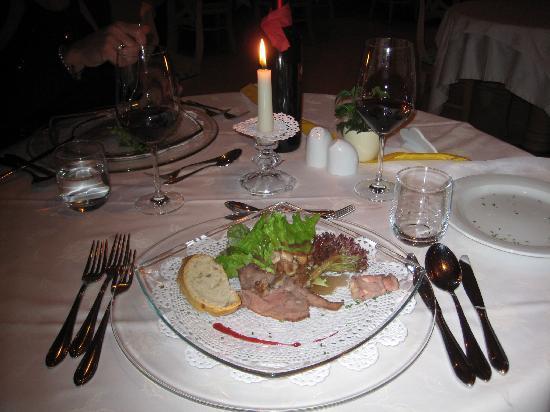 Hotel Tratterhof: Dinner