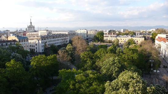Sofia, view from Grand Hotel Sofia