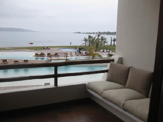 La Hacienda Bahía Paracas: view from balcony