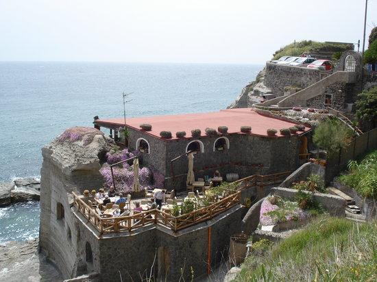 Sant'Angelo, Włochy: Restaurant Lo Scoglio