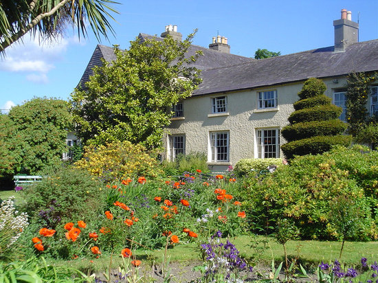 Rathnew, Irland: Hunter's Hotel Garden in Summer