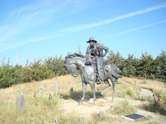 Ogallala, NE: Trail Boss at Boot Hill