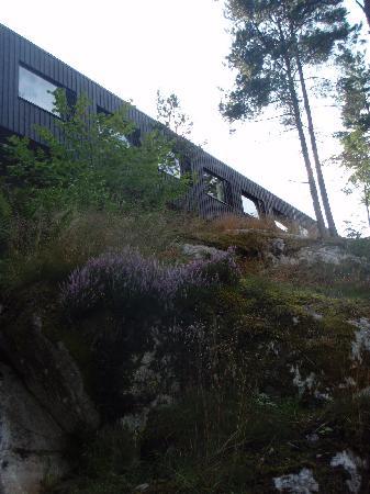 Nacka, Sverige: Les chambres vues de la forêt
