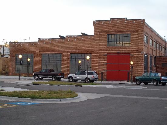 Machine Shop, Historic Railroad District, Evanston, WY - Picture ...