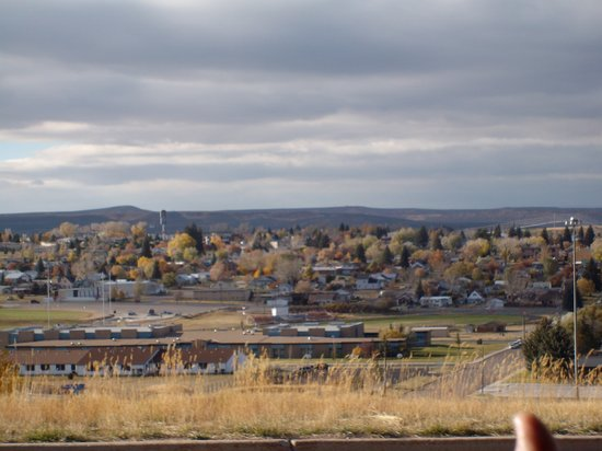 View of Evanston WY from City View Drive