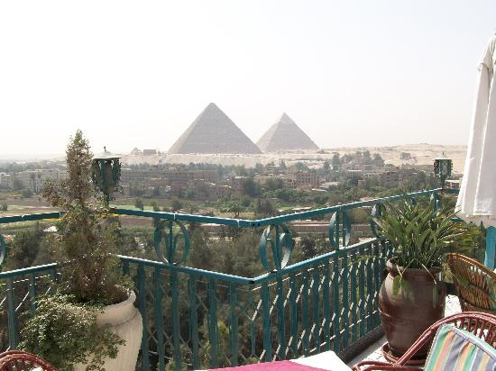 Delta Pyramids Hotel: View from the terrace