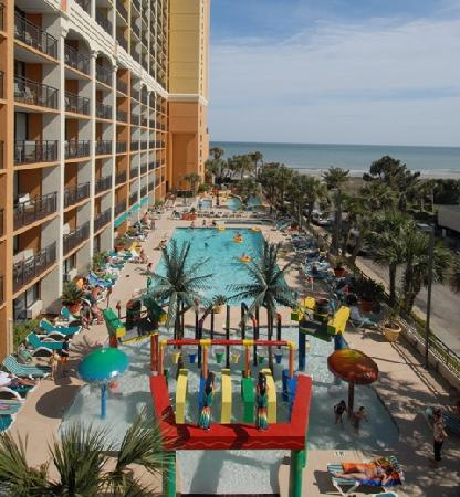 Sea Mark Tower At The Caravelle Myrtle Beach Hotel Reviews Photos Tripadvisor