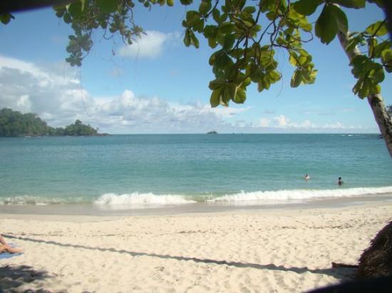 Playa Manuel Antonio: Maravillosa playa del Pacífico, en el parque Manuel Antonio.