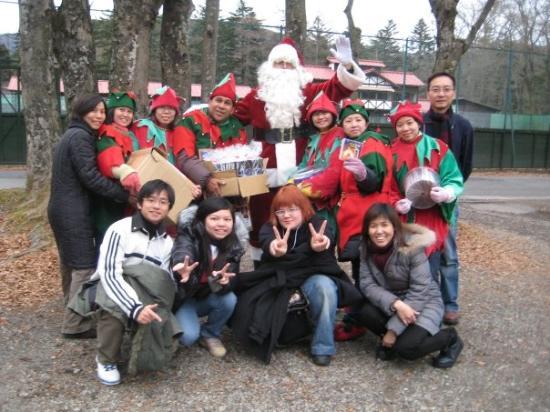 Karuizawa-machi, Japan: Santa Claus & Elves