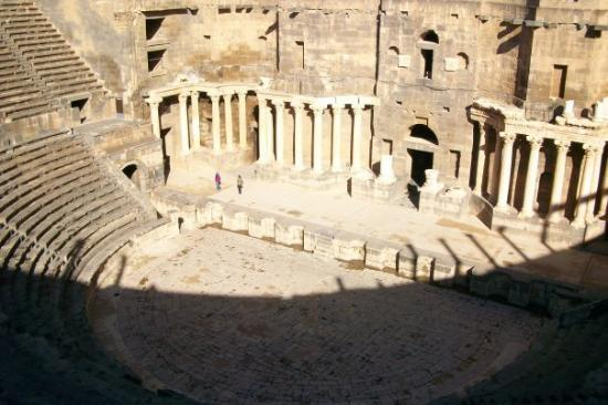 Bosra: its like Rome Theather...but on a smaller scale....very beautifull ...