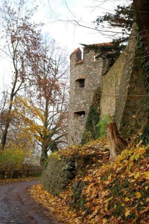 Burg Frankenstein Aufnahme