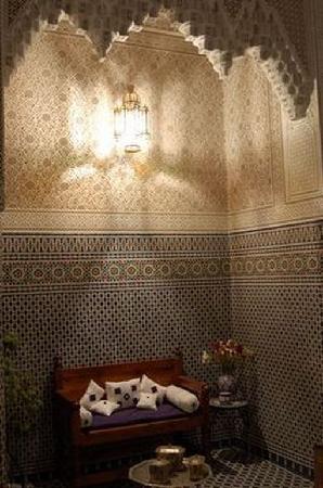 Dar Al Safadi: bartal dans le patio