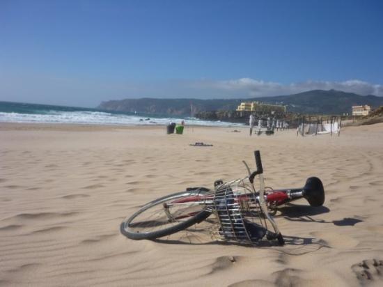 On Guincho beach