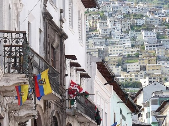 Colonial Architecture And Lots Of Hills Quito Old Town Quito
