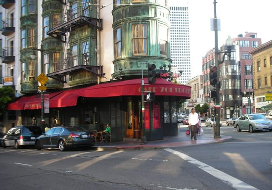 Cafe Zoetrope: Beautiful Building