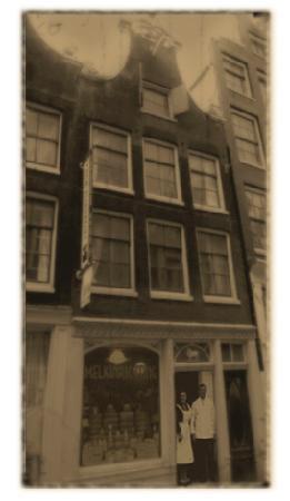 The Blue Sheep Bed & Breakfast Amsterdam: la casa