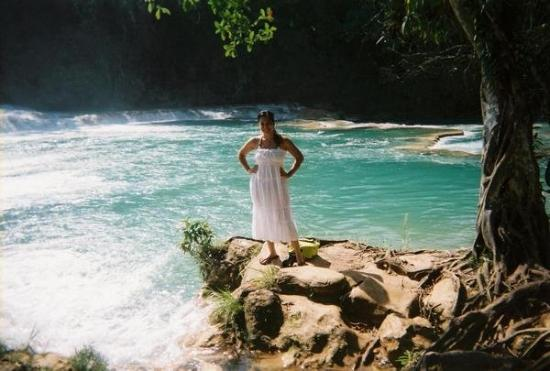 Agua Azul Water Falls In Chiapas Mex Picture Of Palenque