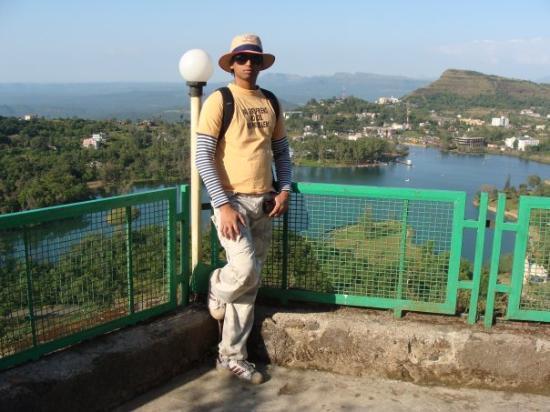 Saputara, India: View from Hotel territory