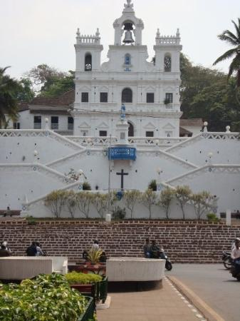 Church of Our Lady of the Immaculate Conception: The Church of the Immaculate Conception, Panjim.