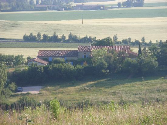 Domaine La Castagne: Rural setting