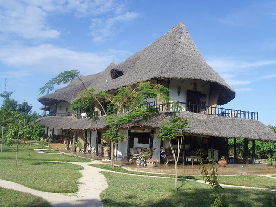 Kinondo Kwetu: The main house