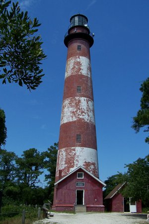 Chincoteague Island, VA: Assateague lighthouse