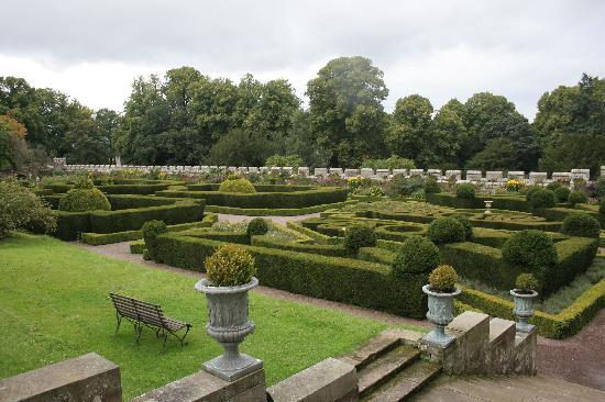 Chillingham Castle: Italian Gardens