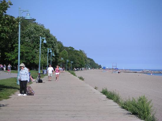Toronto Beach: 散歩に最適、ビーチーズの歩道