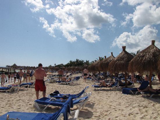 Grand Bahia Principe Coba: beaucoup de vacanciers, mais personne tranquille