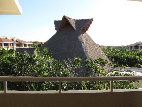 Grand Bahia Principe Coba: vue de notre chambre le matin