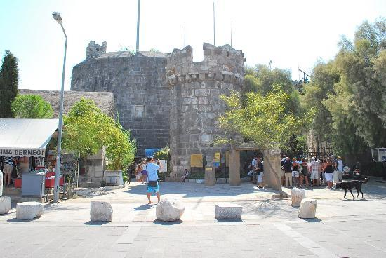 Castle of St. Peter : entrance to the castle