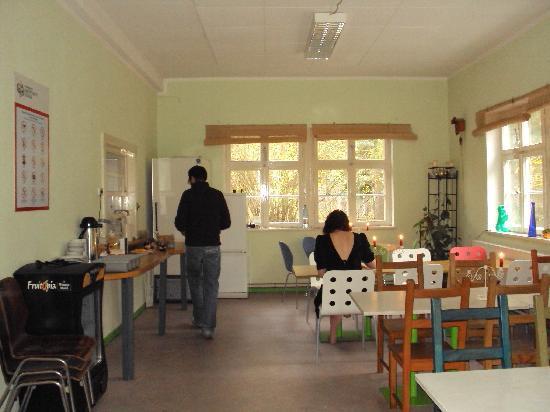 JETpak Hostel : sala colazione al Jetpack