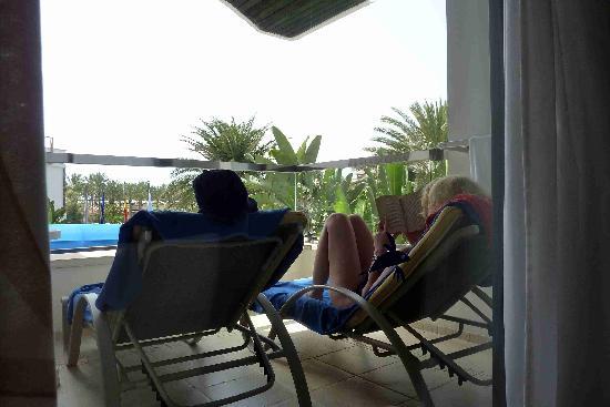 IFA Faro Hotel: Geräumige Terrassen