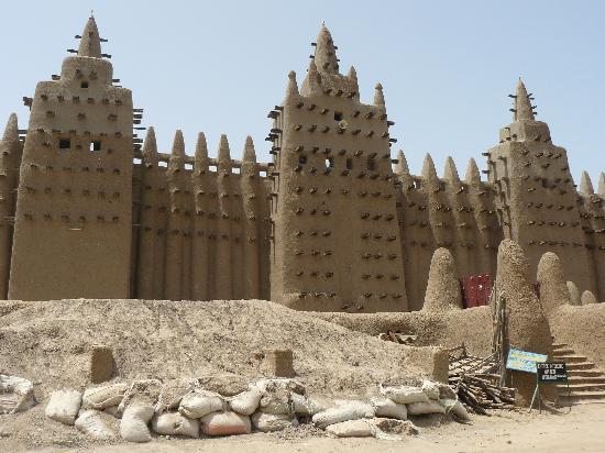 Mali: mezquita de Djenne