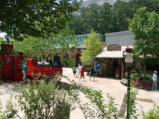 Stone Mountain, Géorgie : das Dorf