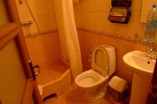 Nevsky Inn 1 Bed and Breakfast: the adequate en-suite toilet