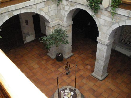 Hotel Convento San Roque: cour intérieure