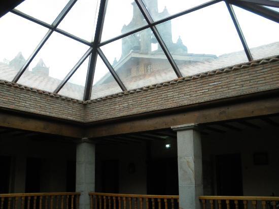 Hotel Convento San Roque: Le clocher nous surveille